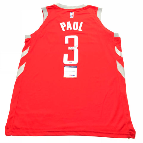Chris Paul signed jersey PSA/DNA Houston Rockets Autographed Red
