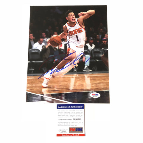Devin Booker signed 8x10 photo PSA/DNA Phoenix Suns Autographed