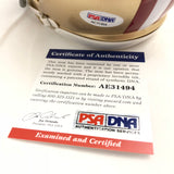 Ahkello Witherspoon signed mini helmet PSA/DNA San Francisco 49ers autographed