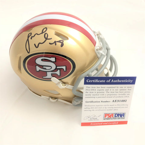 Fred Warner signed mini helmet PSA/DNA San Francisco 49ers autographed