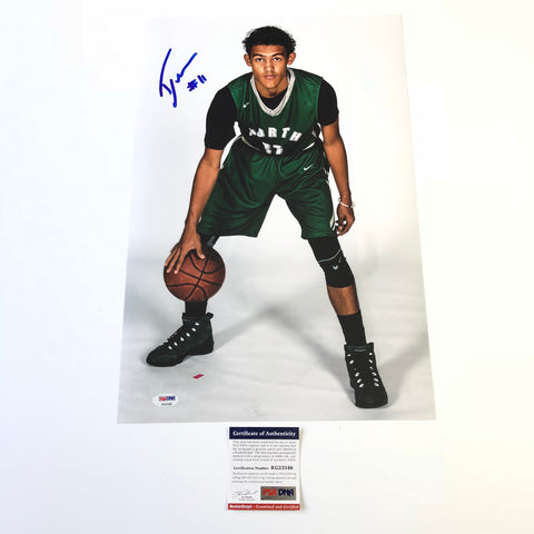 Trae Young signed 12x18 photo PSA/DNA Atlanta Hawks Autographed Oklahoma