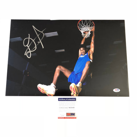 DeAndre Ayton signed 12x18 photo PSA/DNA Phoenix Suns Autographed