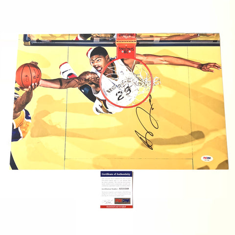 Anthony Davis signed 12x18 photo PSA/DNA New Orleans Pelicans Autographed