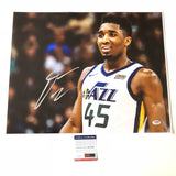 Donovan Mitchell signed 16x20 photo PSA/DNA Utah Jazz Autographed