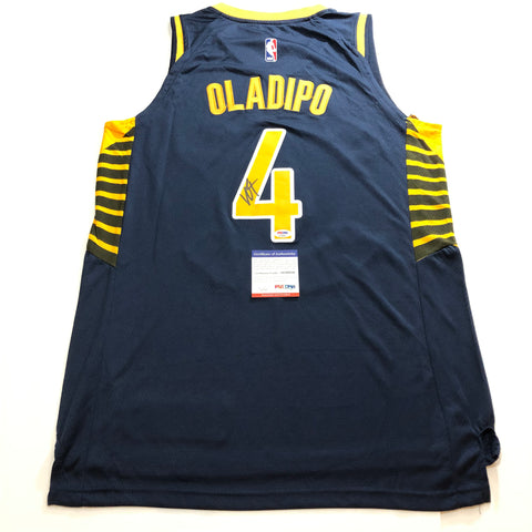 Victor Oladipo signed jersey PSA/DNA Indiana Pacers Autographed