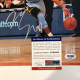 Mike Conley signed 8x10 photo PSA/DNA Memphis Grizzlies Autographed