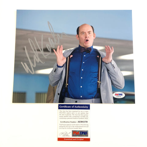 David Dave Koechner signed 8x10 photo PSA/DNA Autographed