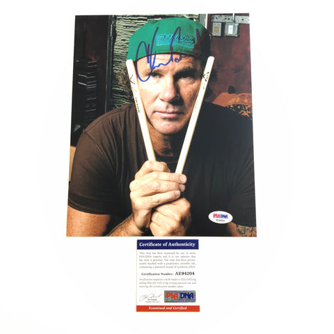 Chad Smith Red Hot Chili Peppers signed 8x10 photo PSA/DNA Autographed