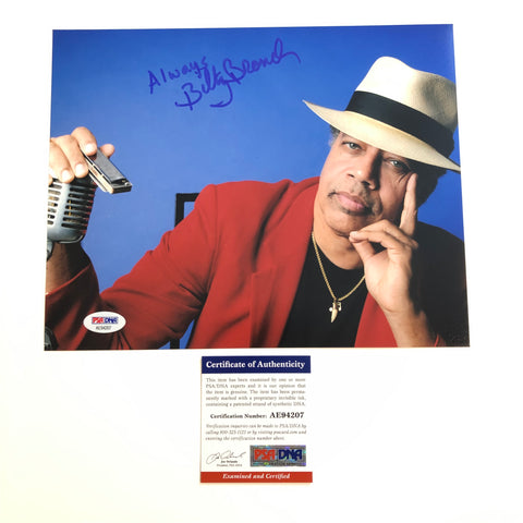 Billy Branch signed 8x10 photo PSA/DNA Autographed