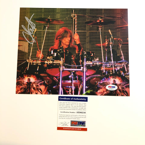 Scott Travis Judas Priest signed 8x10 photo PSA/DNA Autographed