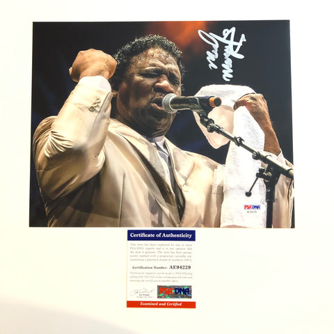 Mud Morganfield signed 8x10 photo PSA/DNA Autographed