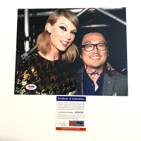 Joseph Kahn signed 8x10 photo PSA/DNA Autographed Taylor Swift