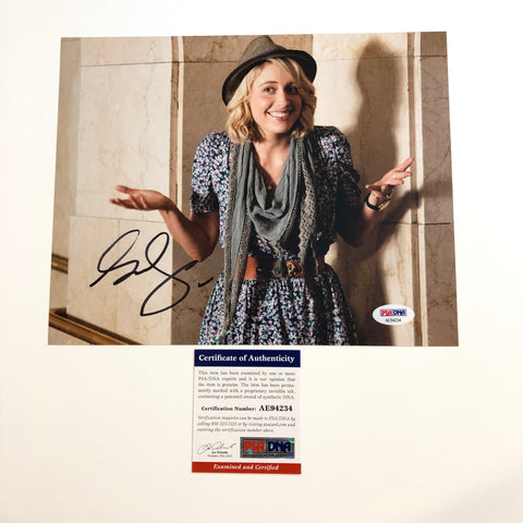 Greta Gerwig signed 8x10 photo PSA/DNA Autographed