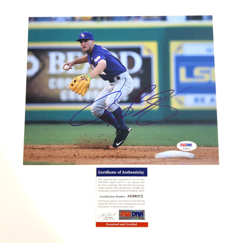 Alex Bregman signed 8x10 photo PSA/DNA LSU Autographed Astros