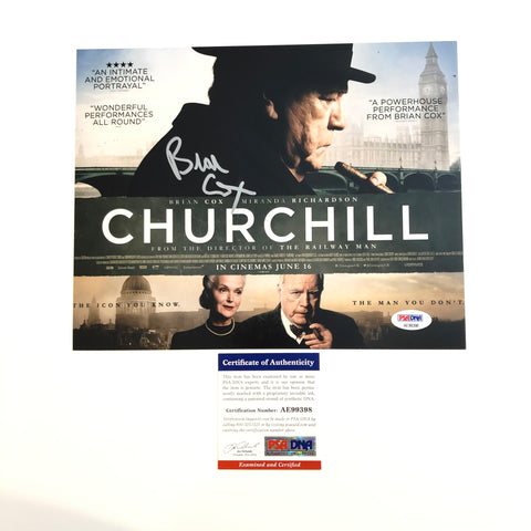 Brian Cox signed 8x10 photo PSA/DNA Churchill Autographed