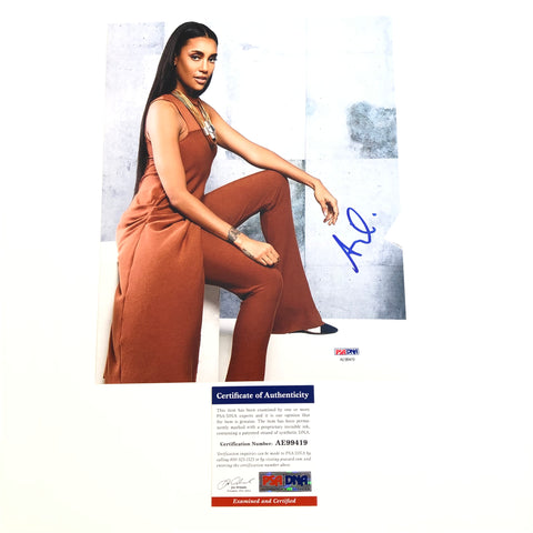 Annie Ilonzeh signed 8x10 photo PSA/DNA Autographed Chicago Fire