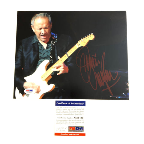 Jimmie Vaughan signed 8x10 photo PSA/DNA Autographed