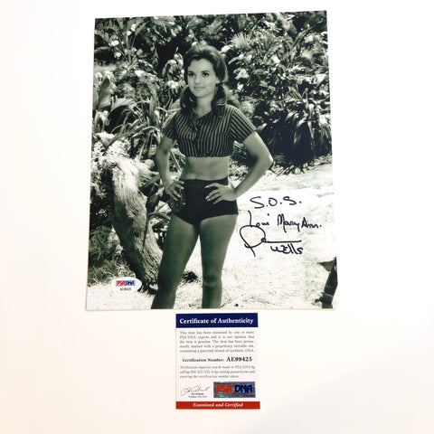Dawn Wells signed 8x10 photo PSA/DNA Gilligan's Island Autographed Mary Ann