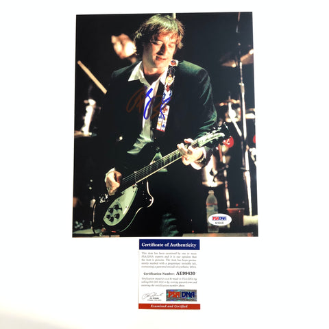 Peter Buck R.E.M. signed 8x10 photo PSA/DNA Autographed REM
