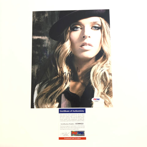 ZZ Ward signed 8x10 photo PSA/DNA Zsuzsanna Eva Autographed