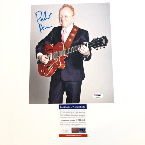 Peter Asher signed 8x10 photo PSA/DNA Autographed