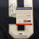 DeMar DeRozan signed jersey PSA/DNA USA Autographed Olympic Spurs