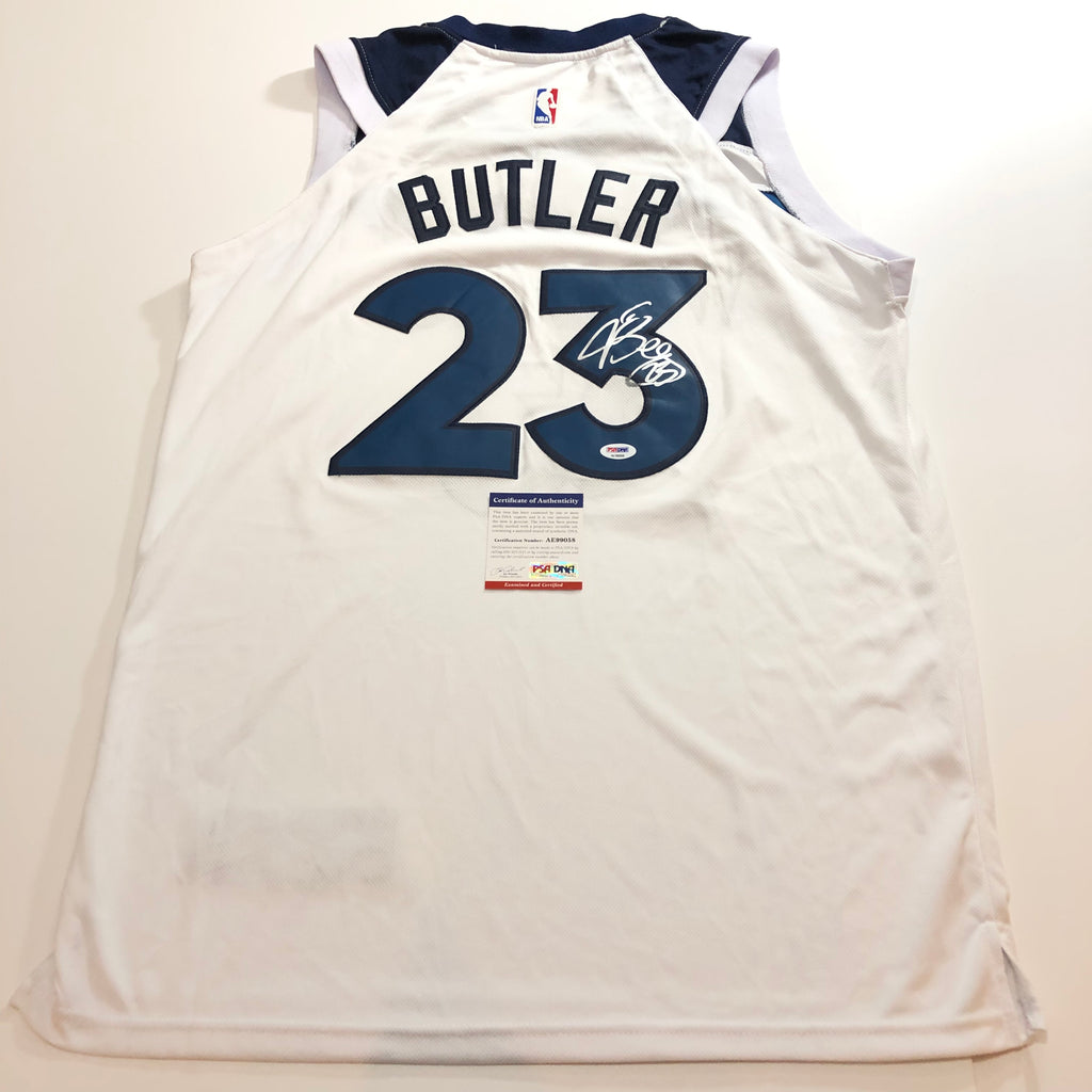 finest selection 2be76 84b28 Jimmy Butler signed jersey PSA/DNA Timberwolves Autographed Sixers 76ers