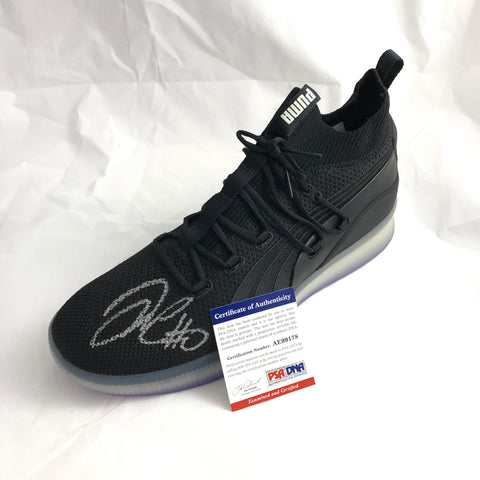 DeMarcus Cousins signed PUMA shoe PSA/DNA Warriors Autographed Sneaker