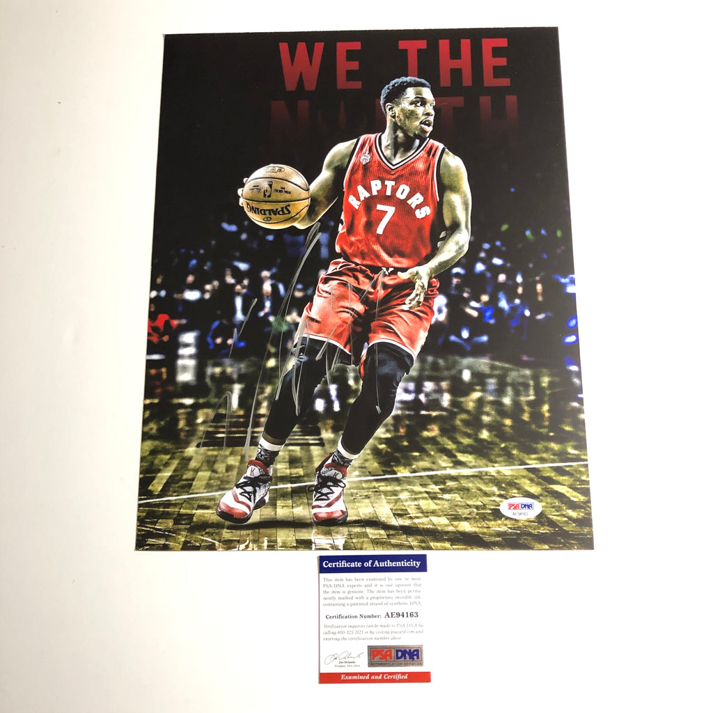 buy online 58200 adddd Kyle Lowry signed 11x14 photo PSA/DNA Toronto Raptors ...