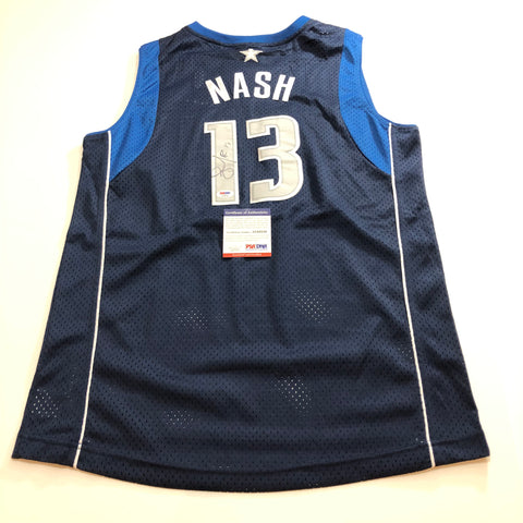 Steve Nash signed jersey PSA/DNA Dallas Mavericks Autographed