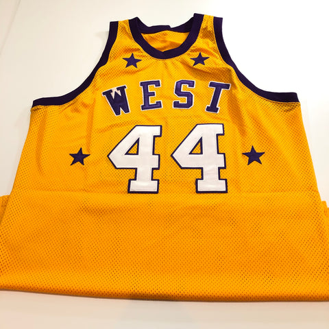 94b6b3d24 Jerry West signed jersey PSA DNA Los Angeles Lakers Autographed All Star