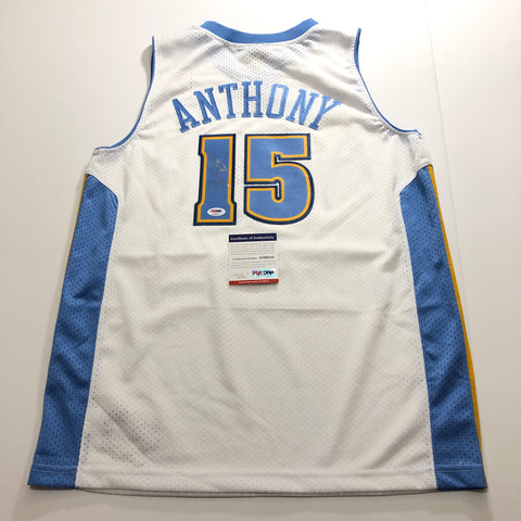 Carmelo Anthony signed jersey PSA/DNA Denver Nuggets Autographed