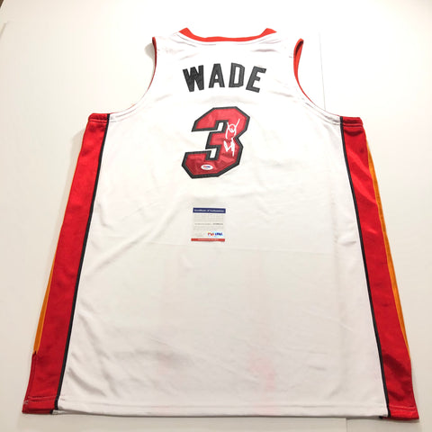 Dwyane Wade signed jersey PSA/DNA Miami Heat Autographed Vice