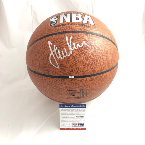 Steve Kerr signed Basketball PSA/DNA Golden State Warriors autographed