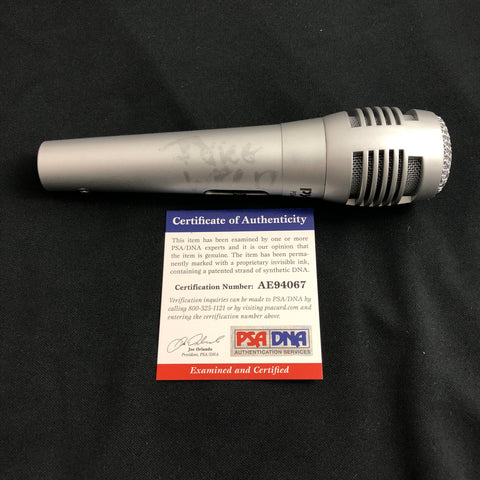Juice Wrld signed Microphone PSA/DNA autographed Mic World Rapper Rap
