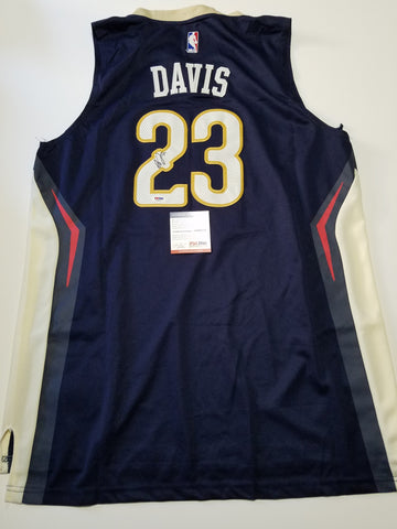 Anthony Davis signed jersey PSA/DNA New Orleans Pelicans Autographed