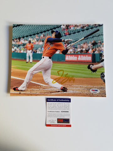 George Springer signed 8x10 photo PSA/DNA Houston Astros Autographed