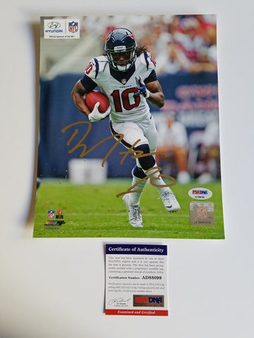 DeAndre Hopkins signed 8x10 photo PSA/DNA Houston Texans Autographed