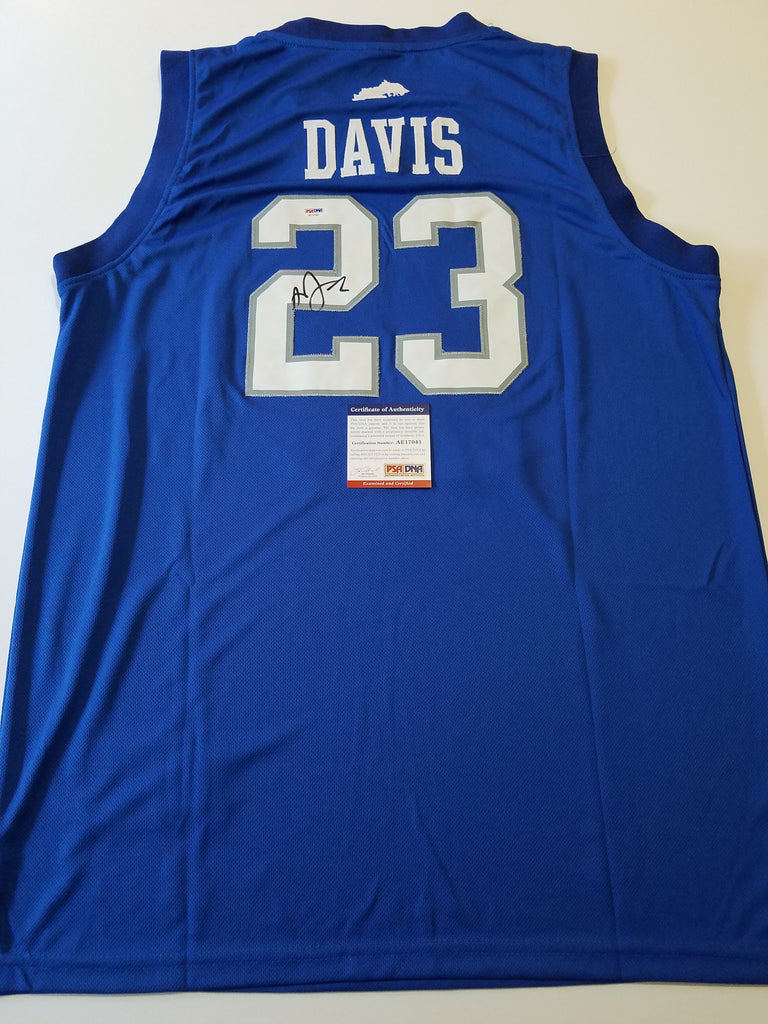 bc7e0ab28cb Anthony Davis signed jersey PSA DNA New Orleans Pelicans Autographed  Kentucky Wildcats