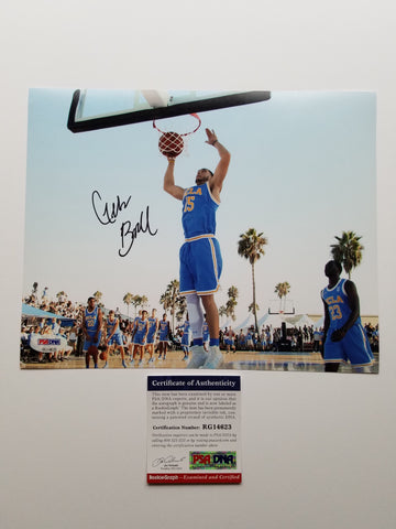 LiAngelo Ball signed 8x10 photo PSA/DNA UCLA Bruins Autographed
