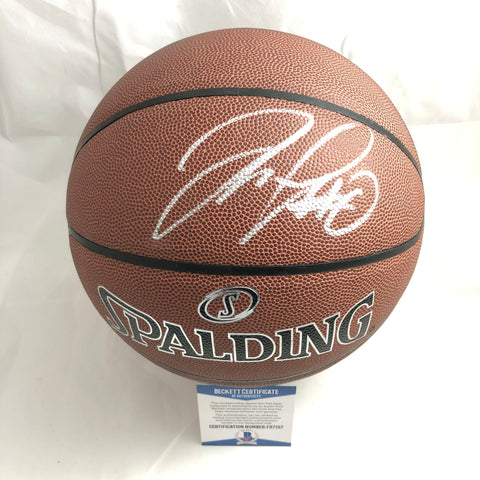Demarcus Cousins signed Basketball BAS Beckett Golden State Warriors autographed