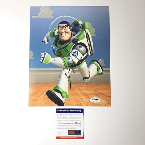 Tim Allen signed 8x10 photo Toy Story PSA/DNA Autographed Buzz Lightyear