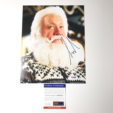 Tim Allen signed 8x10 photo PSA/DNA Autographed The Santa Clause Claus