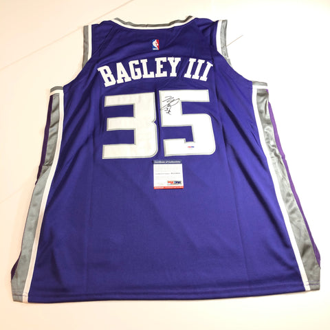Marvin Bagley signed jersey PSA/DNA Sacramento Kings Autographed
