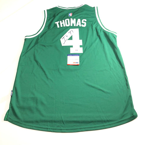 Isaiah Thomas signed jersey PSA/DNA Boston Celtics Autographed Green