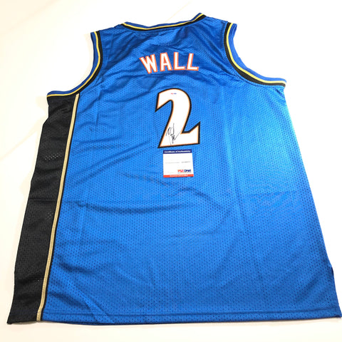 John Wall signed jersey PSA/DNA Washington Wizards Autographed