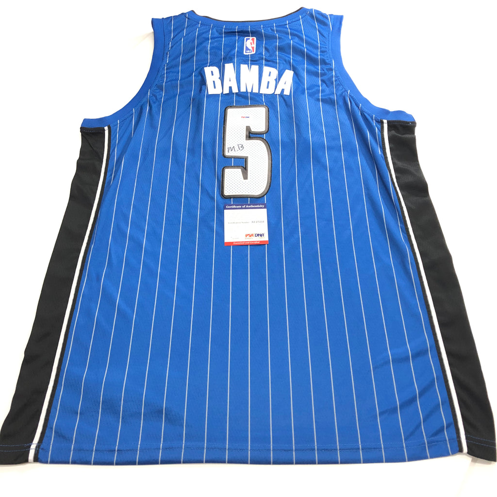 huge selection of 68414 fda28 Mo Bamba signed jersey PSA/DNA Orlando Magic Autographed