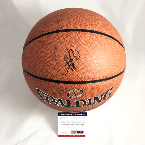Stephen Curry signed Basketball PSA/DNA Warriors autographed Steph ball