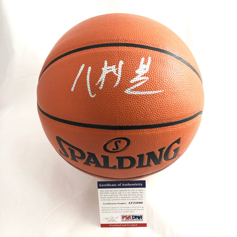 Rui Hachimura signed Basketball PSA/DNA Gonzaga Bulldogs autographed Japan