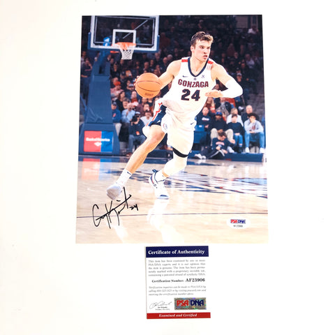 Corey Kispert signed 8x10 photo PSA/DNA Gonzaga Bulldogs Autographed